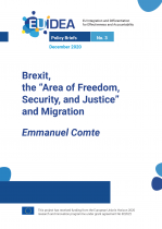 Brexit, the 'Area of Freedom, Security, and Justice' and Migration.