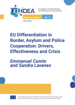 EU Differentiation in Border, Asylum and Police Cooperation: Drivers, Effectiveness and Crisis.